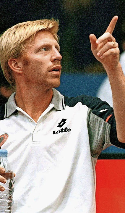 Unvergessliche Auftritte beim Davis-Cup: Boris Becker  | Foto: dpa