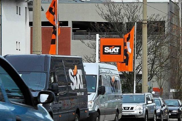 Bald auch Carsharing: Sixt wächst rasant
