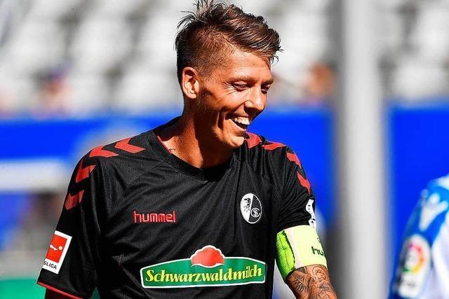 Mike Frantz ist neuer Kapitän des SC Freiburg