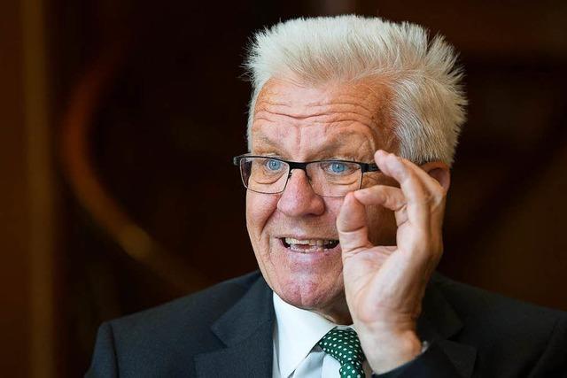 Ministerpräsident Winfried Kretschmann schlägt Ernteausfallversicherung vor