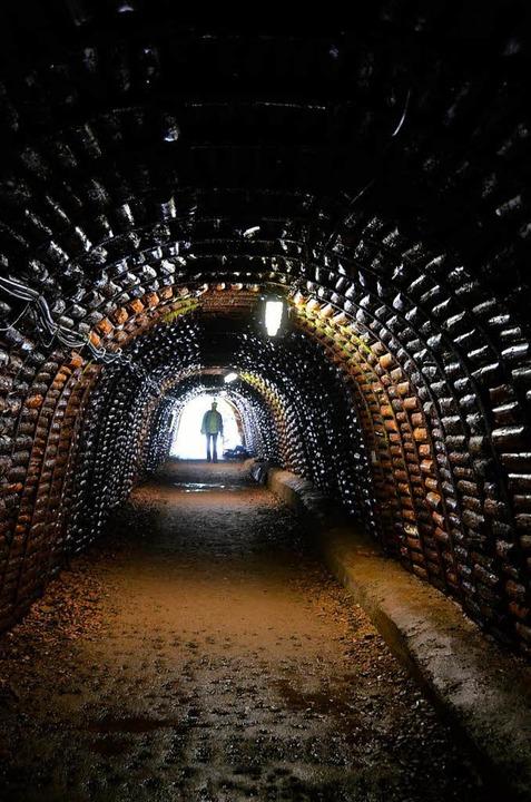 Die perfekte Abkühlung an heißen Somme...len des Besuchsbergwerks Teufelsgrund.  | Foto: Susanne Müller