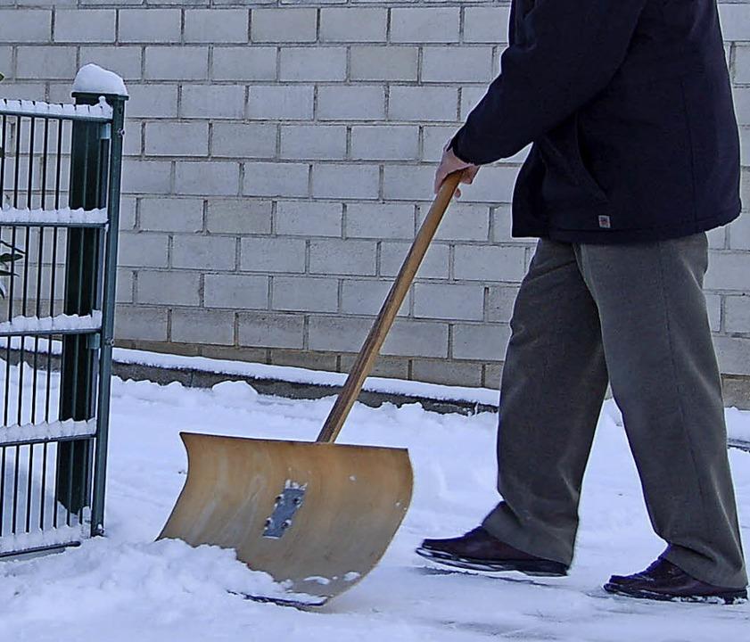 Bei Temperaturen um die 30 Grad denkt ...ahme der Kanderner Kommunalpolitiker.   | Foto: Langelott