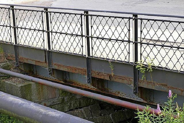 Zahn der Zeit nagt an Urseebrücke
