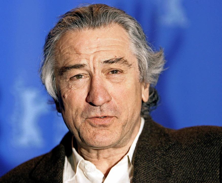 Robert De Niro 2007 auf der Berlinale   | Foto: dpa