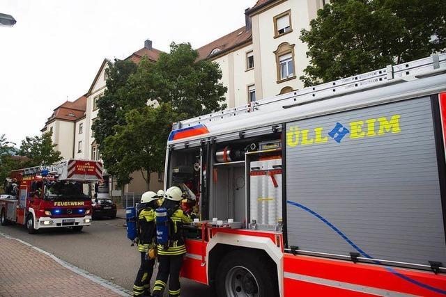 Müllheimer Feuerwehr am Freitag mehrfach im Einsatz