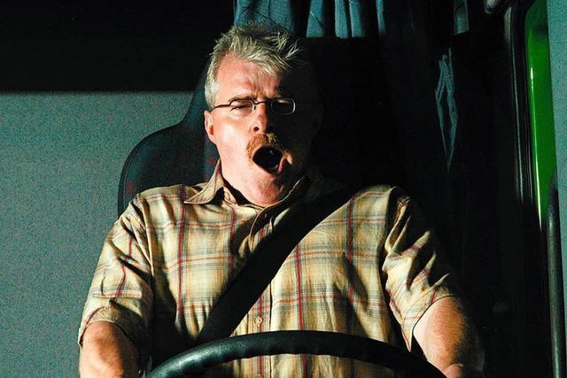 Ein Sekundenschlaf ist gefährlicher als jeder Autofahrer glaubt