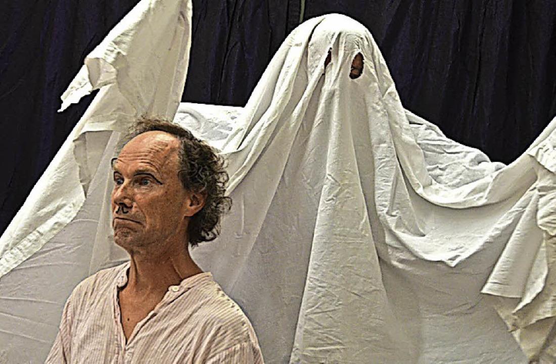 Gibt es etwa doch Gespenster? Keine So...eckt Beppo, der Kollege von Ferdinand.  | Foto: Christiane Sahli