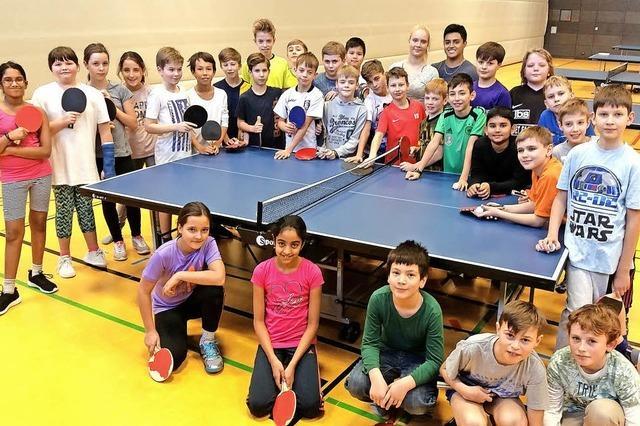 Tischtennis-Verein sammelt Spenden