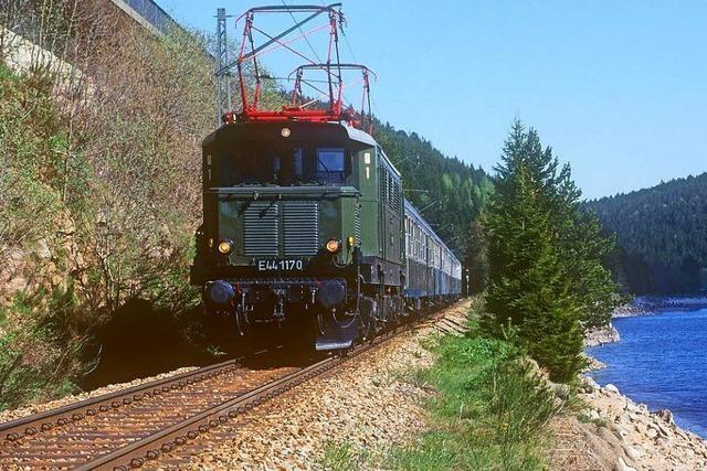 Historischer Elektrozug soll 2021 wieder im Höllental fahren