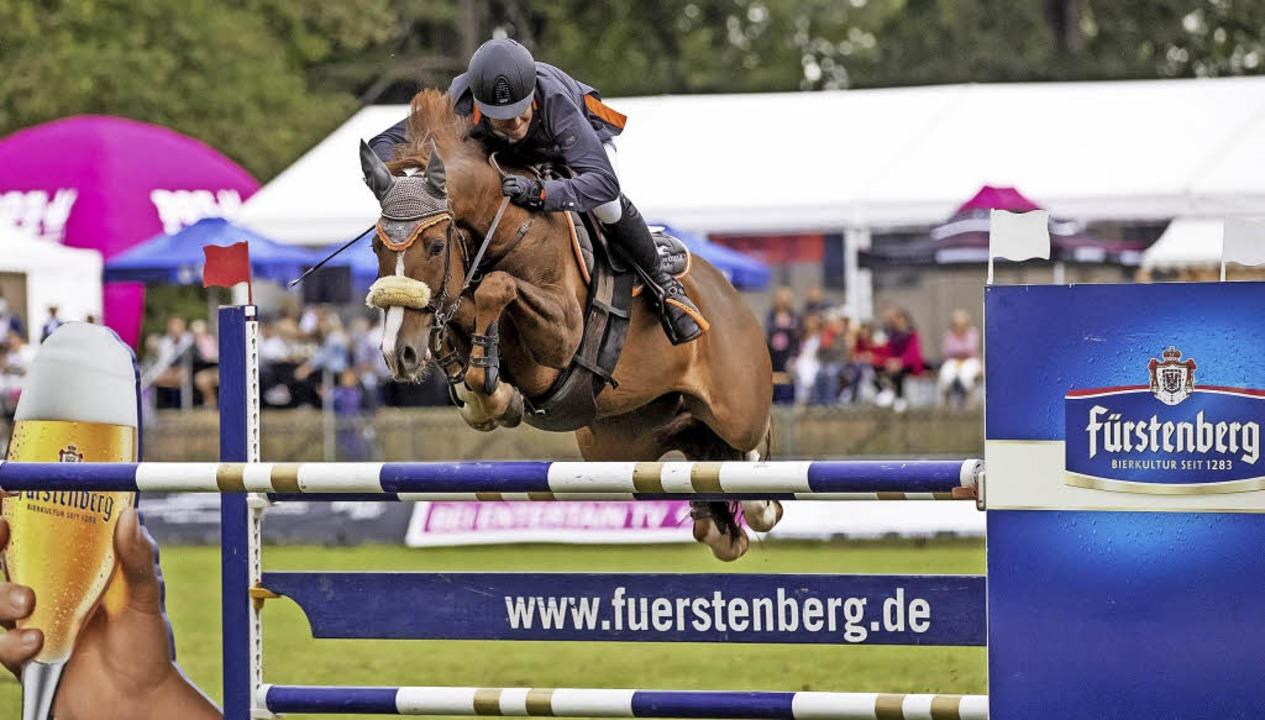 Timo Beck aus Kehl-Bodersweier auf Cen...ation der großen Tour auf Platz zwei.   | Foto: Stefan Lafrentz