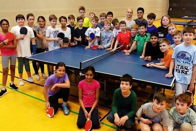 Tischtennis-Verein in Weil sammelt Geld für Trainingszentrum in Peru