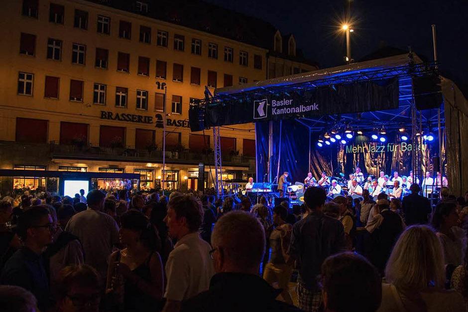 Mehr als 80 Bands und Musikformationen haben am Freitag in Basel gespielt. (Foto: Jonas Schwarzwälder)