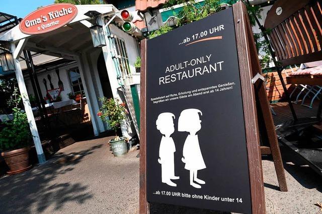 Wirt auf Rügen erklärt sein Restaurant abends zur kinderfreien Zone