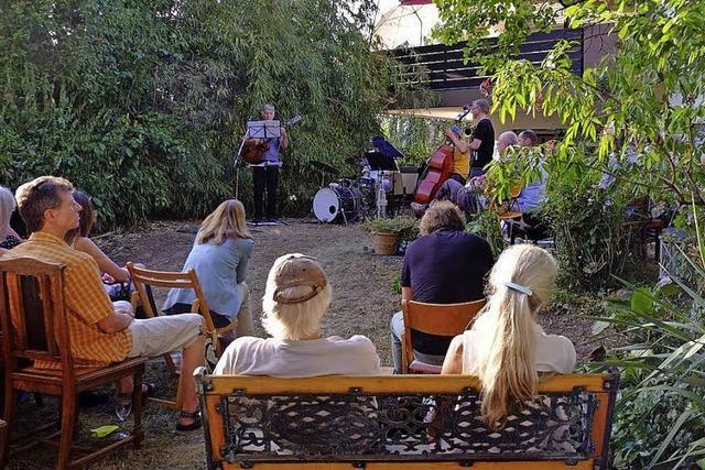 Jazz in grüner Umgebung