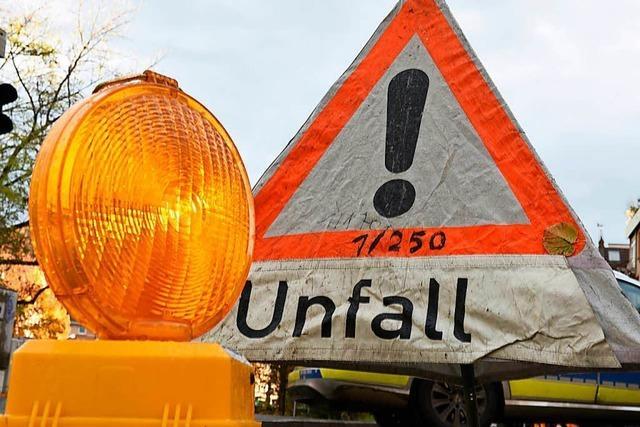 Mehrere Verletzte bei Verkehrsunfall im Bereich Bad Krozingen