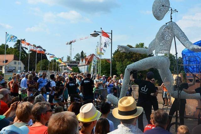 Fotos: Brückensensationen in Rheinfelden