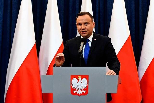 Kein Aufschrei nach Veto des Präsidenten gegen polnische Wahlrechtsreform