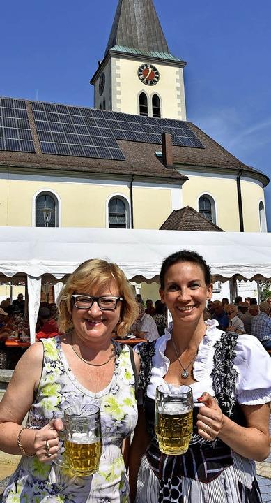 Die Vorsitzende des Gesangvereins, Con...rtsvorsteherin Sabine Hartmann-Müller     Foto: Heinz Vollmar