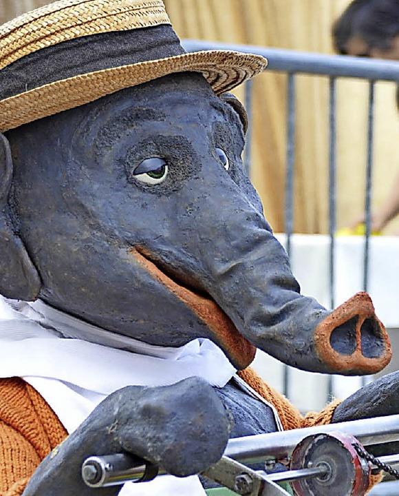 Jochen, der Elefant  | Foto: Horatio Gollin