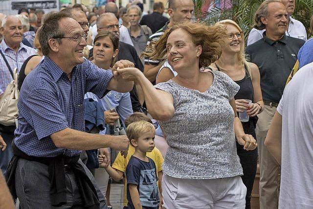 Rekordkulisse beim Basler Straßenjazzfest