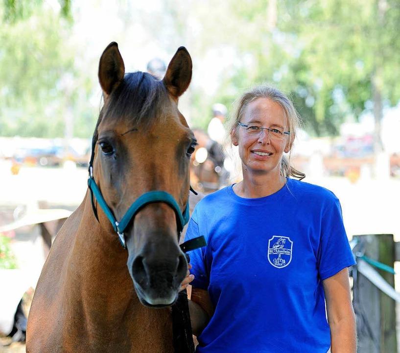Turnierleiterin Christine Kraft  | Foto: Bettina Schaller