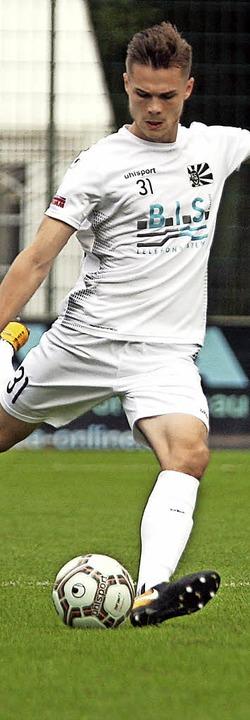 Tim Zölle erzielte das zweite und entscheidende Tor für den FC 08 Villingen II.   | Foto: Dieter Reinhardt