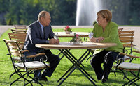 Putin ruft Europa zur Hilfe auf