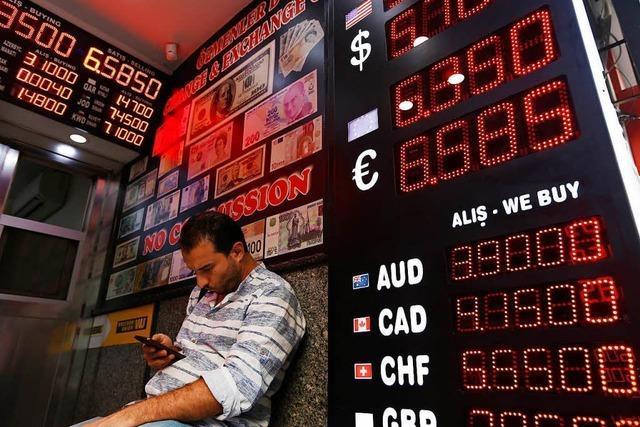 Türkisches Finanzbeben schlägt Wellen