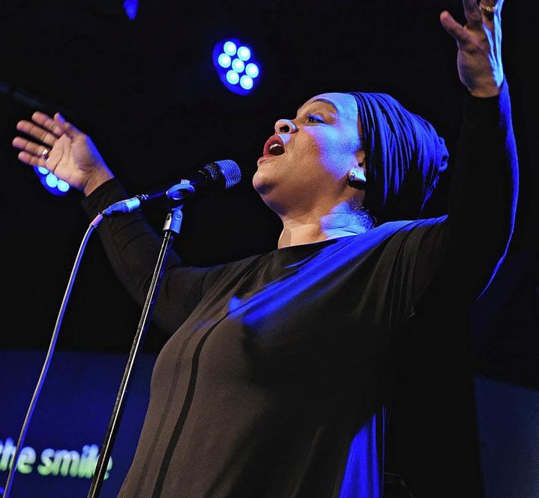 Kommt am 16. September auf die Bühne d...8217;n: Die Jazz-Sängerin Cecile Verny  | Foto: Miroslav Dakov