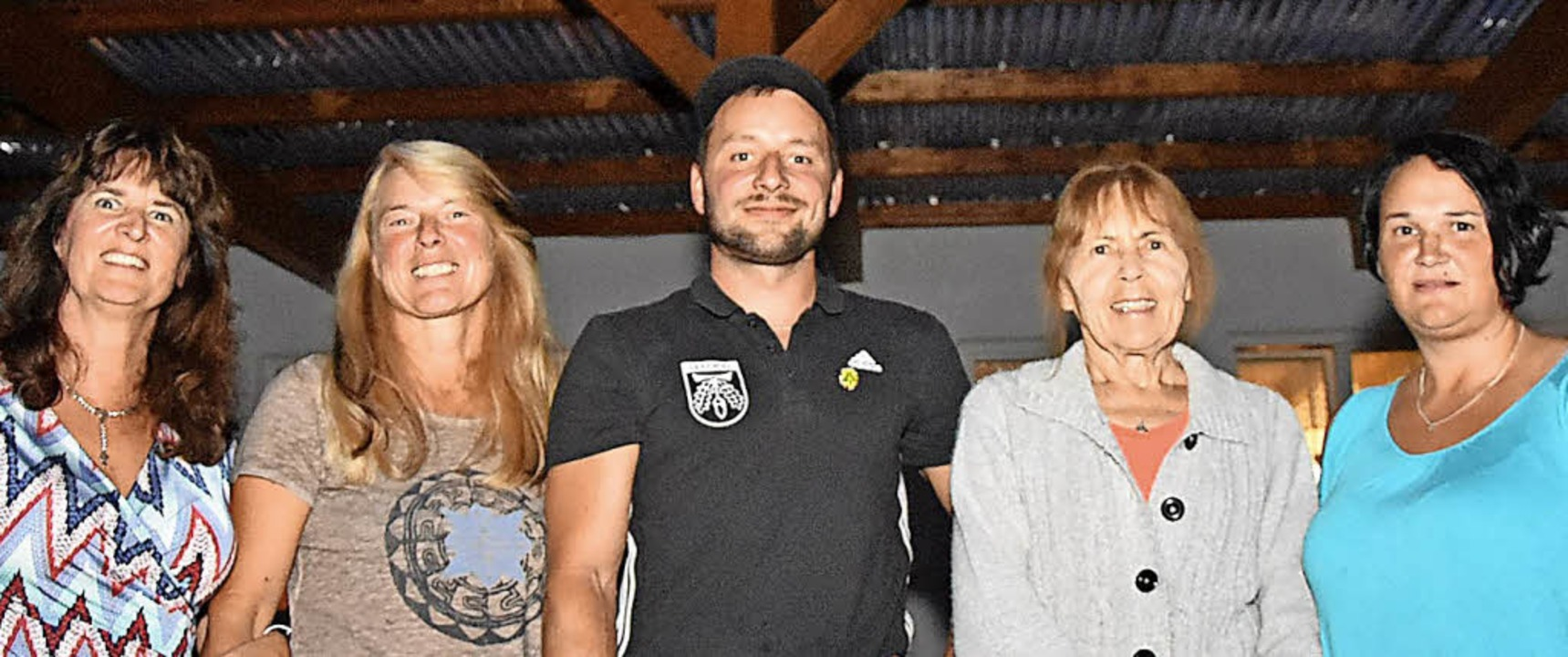 Geehrte Mitglieder: Sabine Rütschlin, ...el, Annemarie Strobel und Nicole Röse   | Foto: Heinz Vollmar