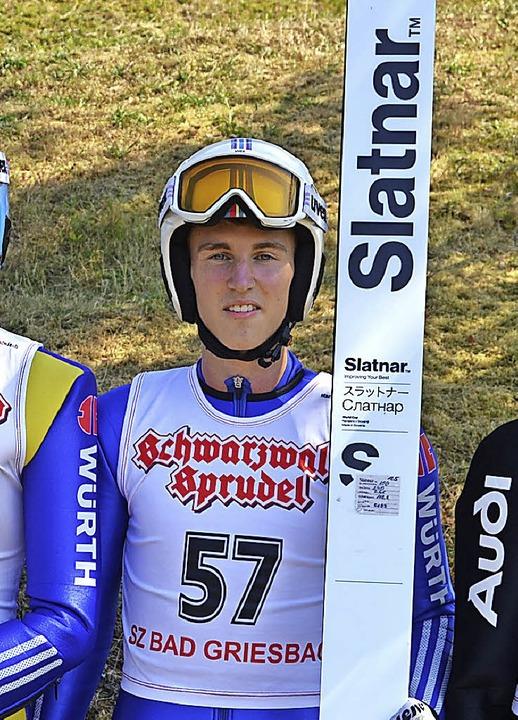 Sprang weit und gewann die dreiteilige Serie:  Julian Ketterer  | Foto: Jun