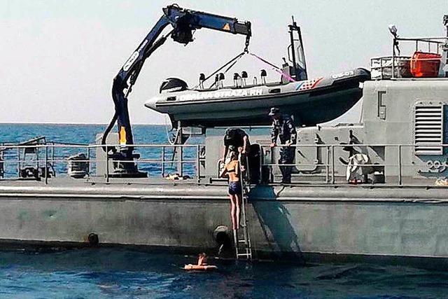 Britische Touristin zehn Stunden nach Sturz von Kreuzfahrtschiff gerettet