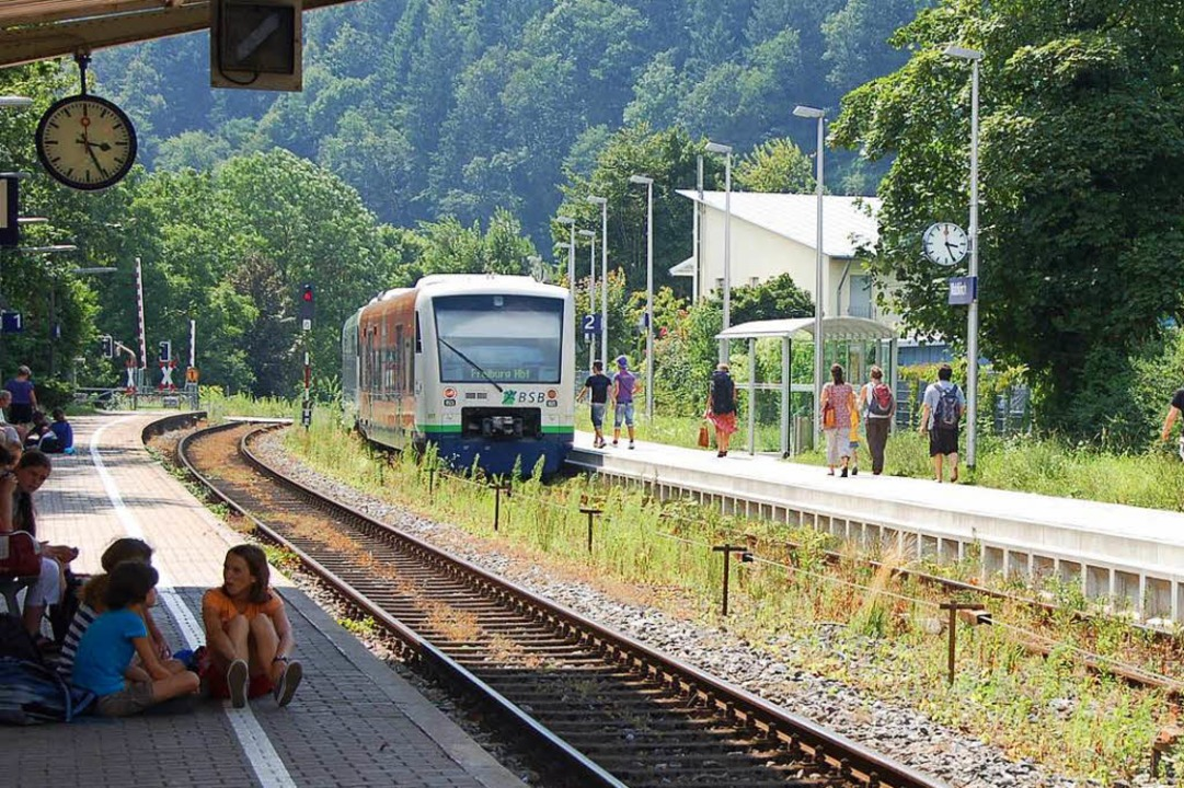 Kein Zug wird fahren vom 25. bis 31. A...n Waldkirch und Elzach und umgekehrt.   | Foto: B.Fackler