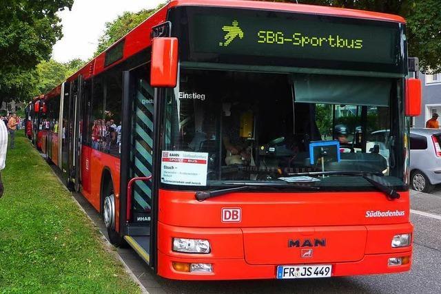 Höllentalbahn gesperrt: Zusätzlicher Sportbus fährt zu SC-Spielen nach Freiburg