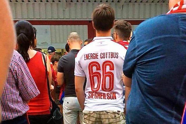 Cottbus-Fan soll Nazi-Trikot bei Pokalspiel getragen haben