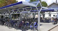 150 neue Fahrradstellplätze seit 2015