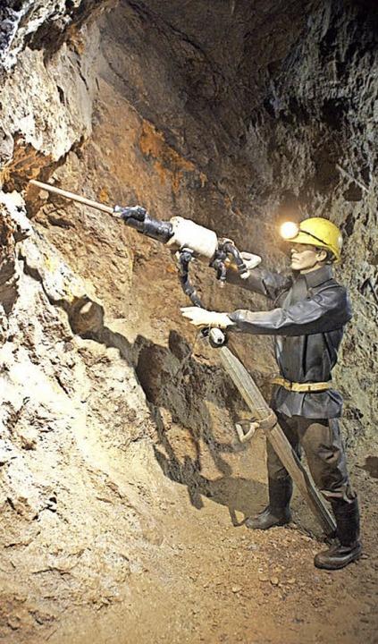 Im Innern wird Bergbau-Geschichte lebendig erzählt.  | Foto: Verena Wehrle