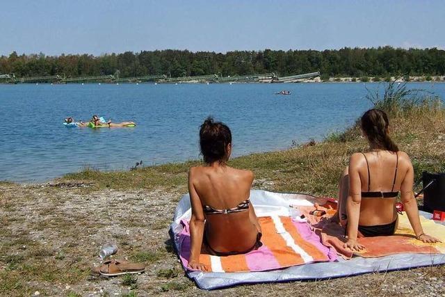 Der Baggersee, der eigentlich ein Geheimtipp bleiben soll