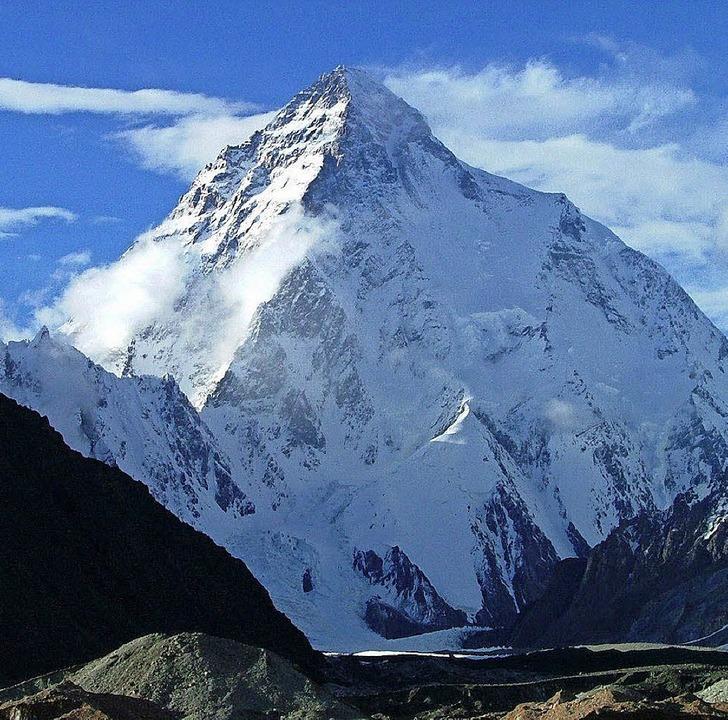 Schroff und gefährlich: der K2     Foto: dpa