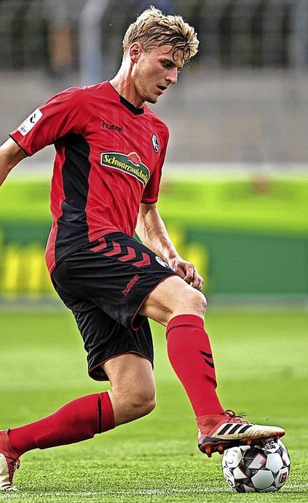 Erzielte den 2:1-Siegtreffer für den SC: Christoph Daferner   | Foto: Seeger
