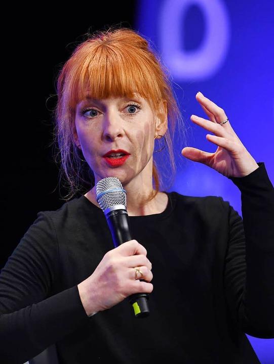 Barbara Hans, Chefredakteurin von Spiegel Online.  | Foto: dpa