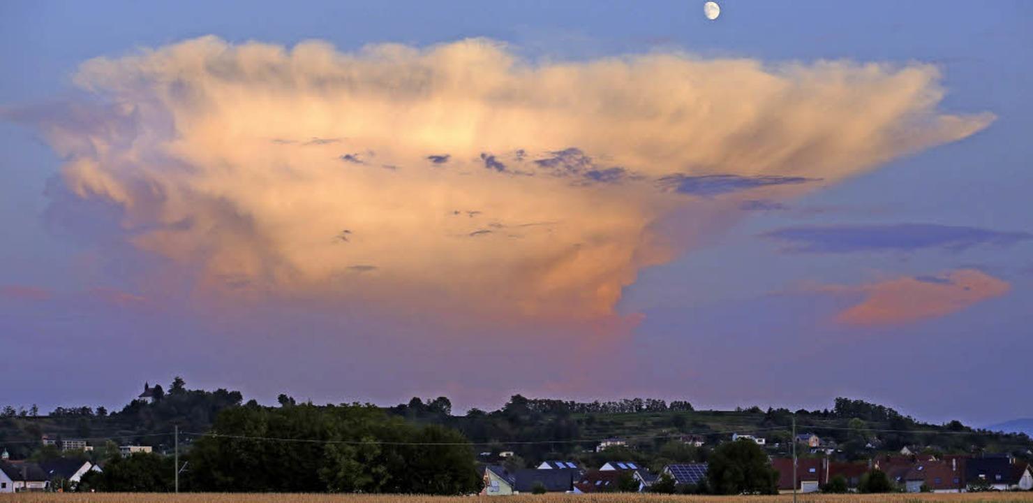 Cumulonimbus    Foto: Hans-Peter Ziesmer