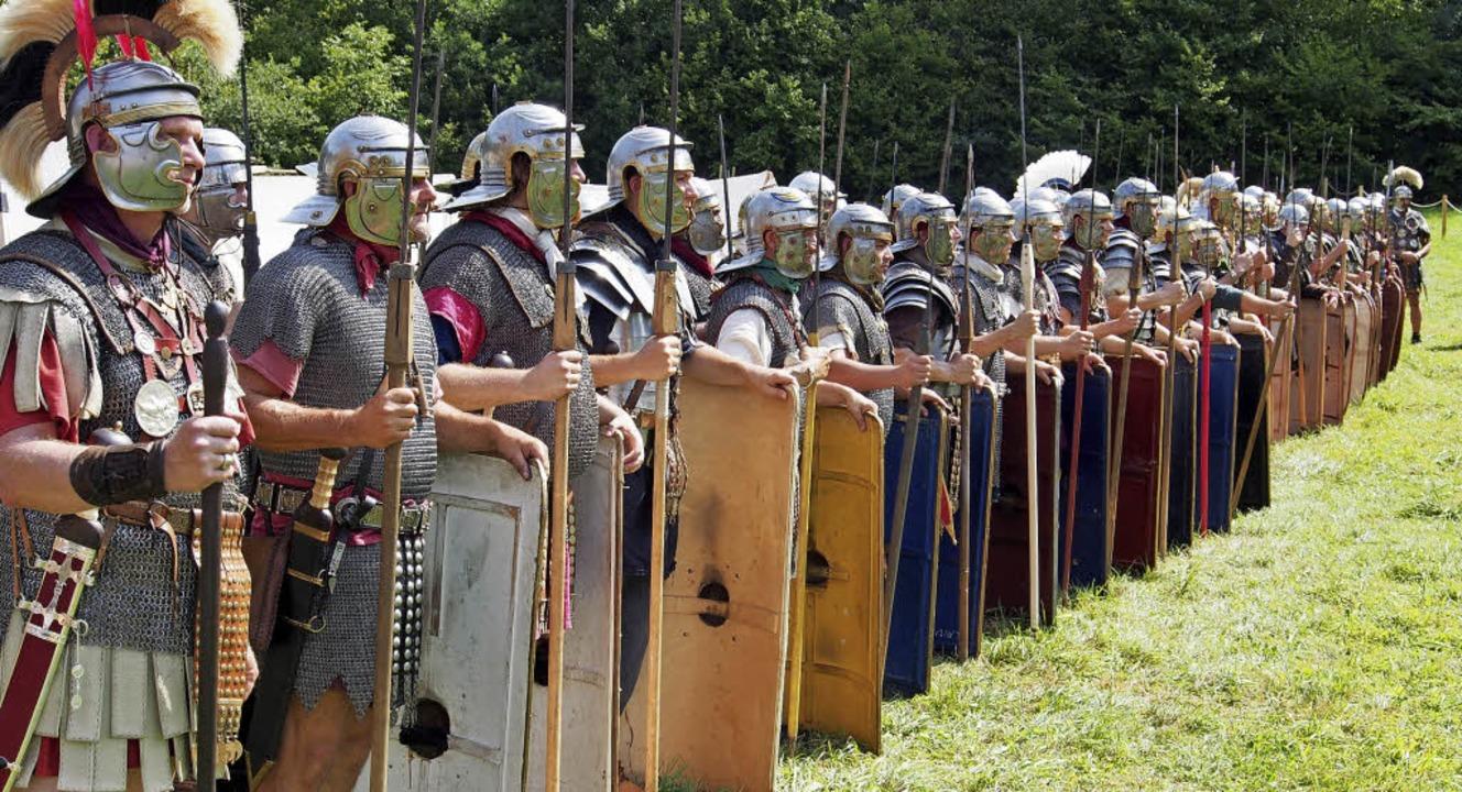 "Das Römerfest in Augusta Raurica biete...en  der ""living history"".   | Foto: Boris Burkhardt"