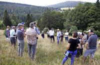 Diskussion über extensive Weiden