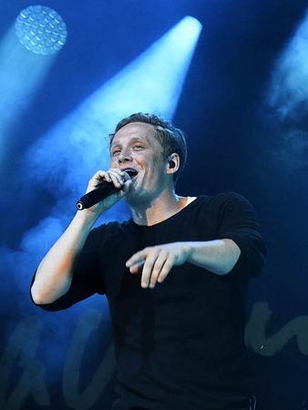 Matthias Schweighöfer auf dem I EM Music