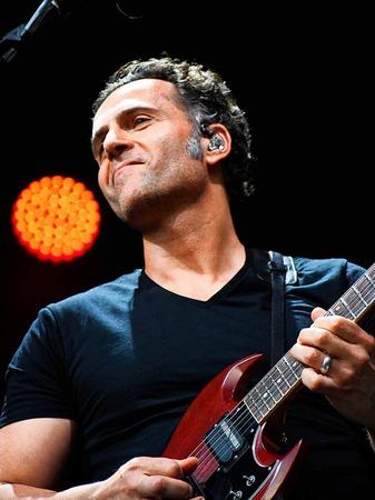 Dweezil Zappa auf dem Stimmen-Festival in Lörrach