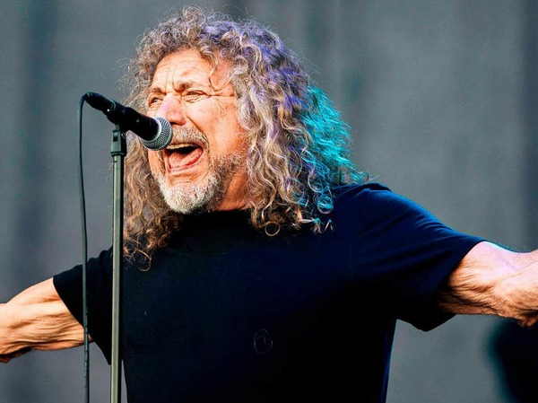 Robert Plant auf dem Stimmen-Festival
