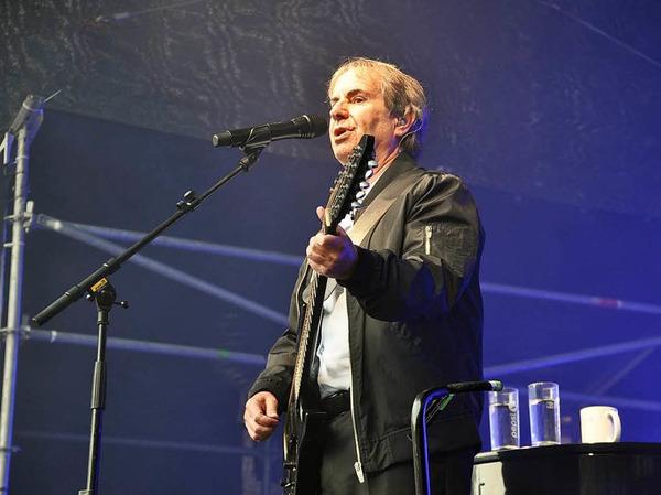 Chris de Burgh beim Sommersound in Schopfheim