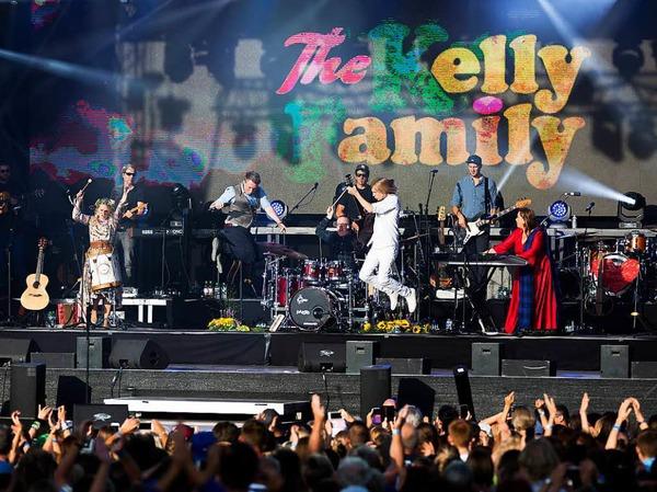 The Kelly Family auf dem Freiburger Messegelände