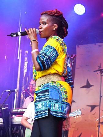 Treesha & The Evolution Band auf dem African Music Festival in Emmendingen
